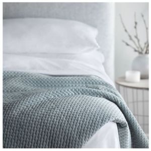 WELLNESS WEIGHTED BLANKET - 20LB, BLUE
