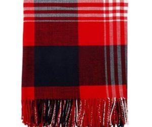Throw Blanket - Winter Plaid