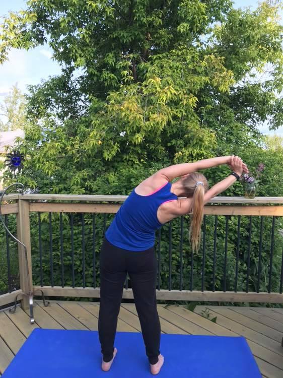 Side Bend Pose
