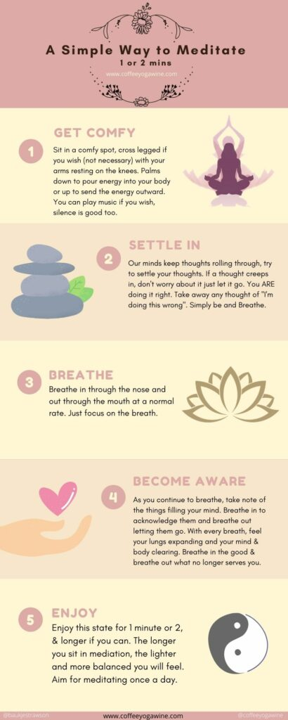 A simple way to add meditation to your daily routine